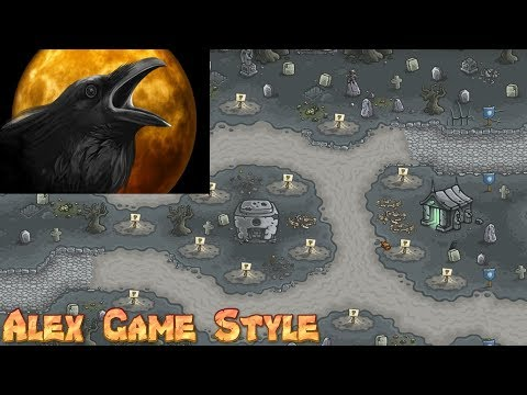 Kingdom Rush HD || Achievement Nevermore || Capture the Attention of the Mysterious Crow