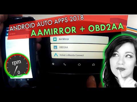 ANDROID AUTO CUSTOM APPS 2018 AAMIRROR + OBD2AA - PakVim net
