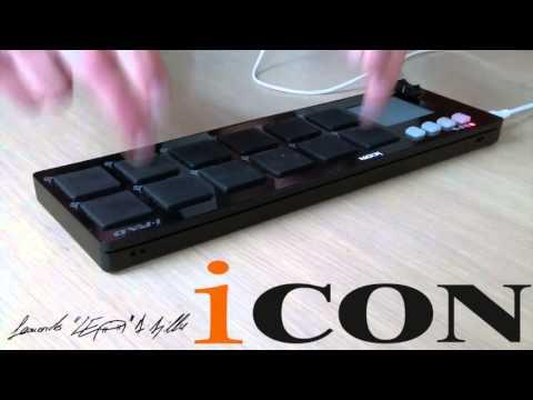 Video presentazione Midi Controller Icon i-Pad Black  webmusicshop.it