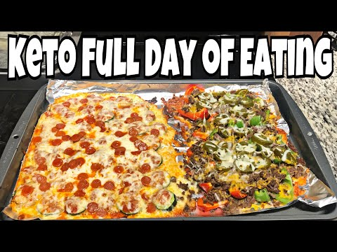 Keto Day of Eating | Green Smoothie, Pizza Bites & Nachos | Pinner Test Food Intolerance Test