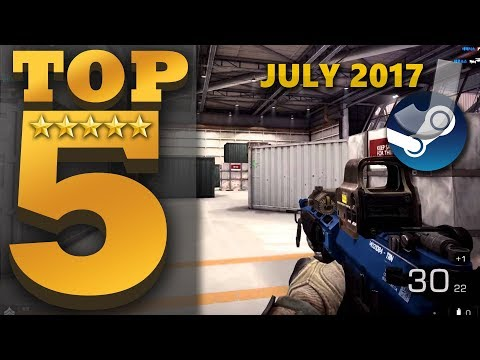 Top 5 NEW FREE TO PLAY Steam Games (JULY 2017)