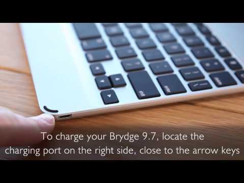 How to Test the Battery and Charge Brydge 9.7