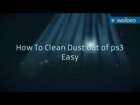 how to clean the dust out of your ps3 easy way and fix overheating and more