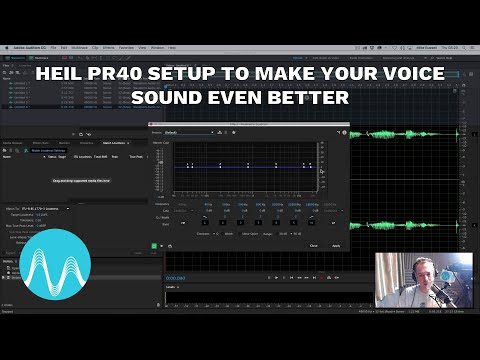 Heil PR40 Setup to Make Your Voice Sound Even Better