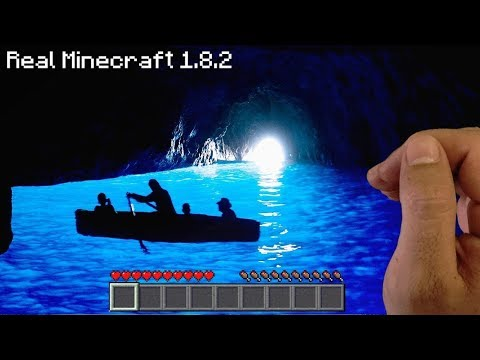 Real Life Minecraft  - UNDERWATER CAVE!!
