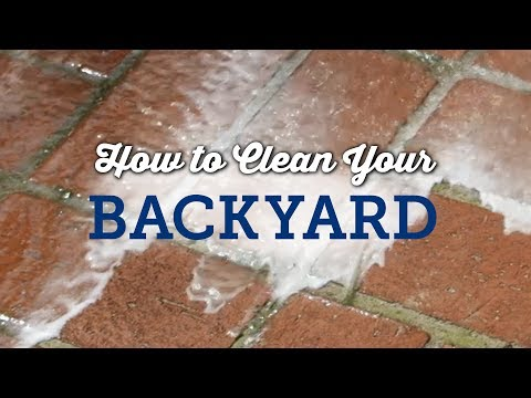 How to Clean your Backyard for a Party