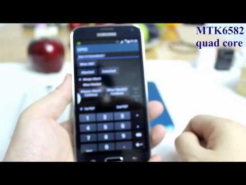 best version MTK6582 1:1 copy of samsung galaxy s5 phone SM-G900H quad core 2gb ram 32gb rom 13MP