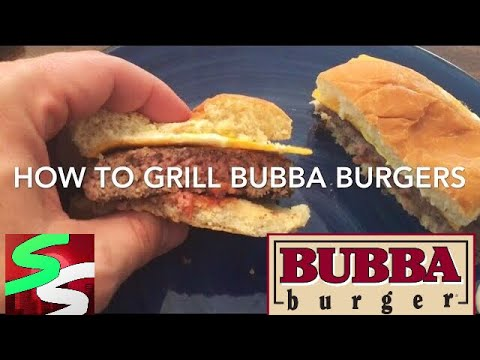 HOW TO GRILL FROZEN BUBBA BURGERS | (WITHOUT A GRILL)