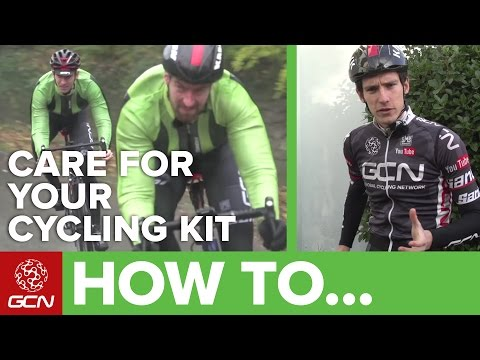 How To Wash And Care For Your Cycling Kit – Caring For Your Bike Clothing And Apparel