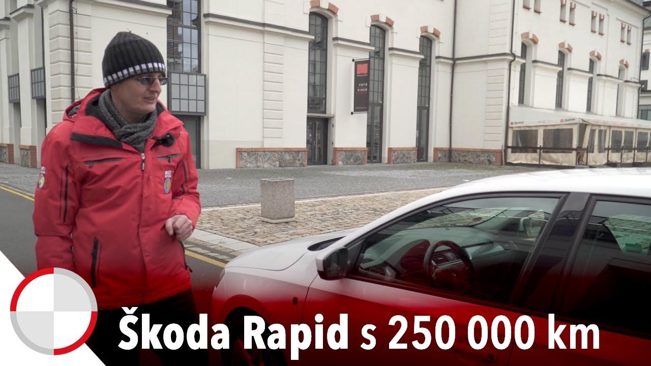 Martin Vaculík a pořádně ojetá Škoda Rapid: Jak obstál motor 1.2 TSI?