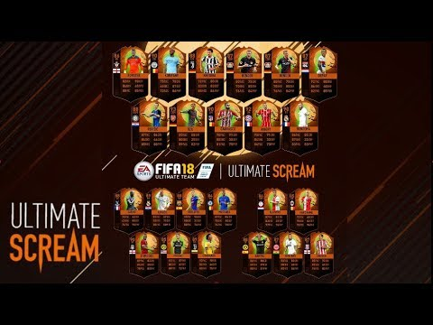 16,600 FIFA POINT PACK OPENING FOR ULTIMATE SCREAM CARD 🎃🎃- FIFA 18 ULTIMATE TEAM