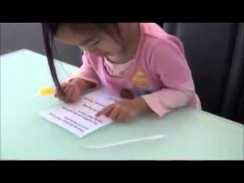 Teaching Kids To Read Is Easy! Watch 2 Year Old Child Reading