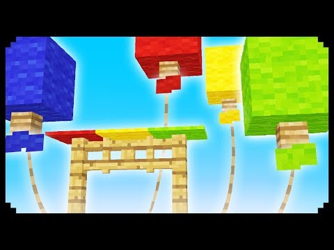 ✔ Minecraft: How to make a Balloon Stand