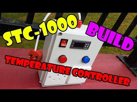 STC-1000 Temperature Controller Box Build