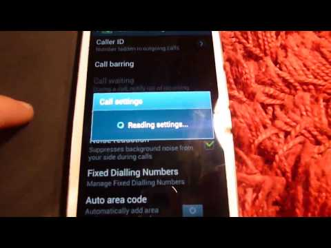 How to hide caller ID on Samsung Galaxy s3