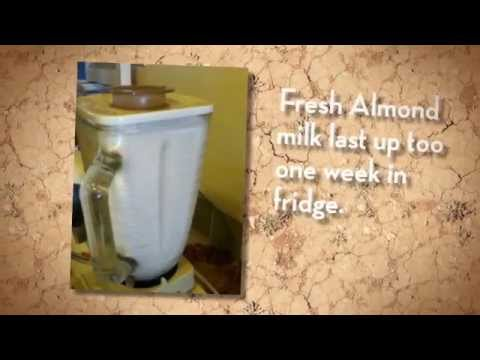 How to Make Almond Milk -the easy way!