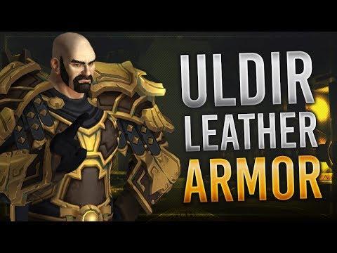 Uldir Raid Leather Set   LFR,Normal,Heroic & Mythic   Battle for Azeroth!