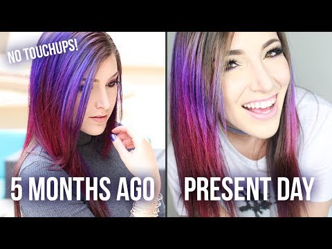 How to Make Your Hair Color Last for Months! || KELLI MARISSA