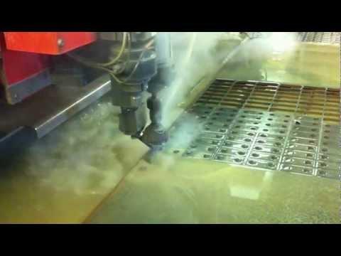 Water jet cutting mild steel | EWL WaterJet