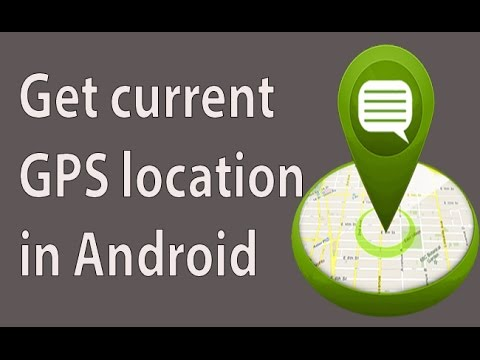 How to get current GPS location in Android using android Studio