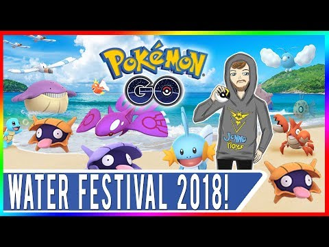 POKEMON GO WATER FESTIVAL 2018! Shiny Kyogre Hunting at EX Gyms in San Francisco