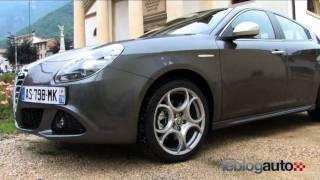 Test Alfa Romeo Giulietta - Essai 170ch - Modèle 2010