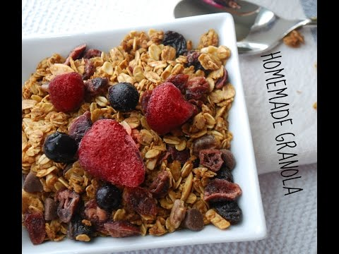 Homemade Granola Recipe - The Basics!