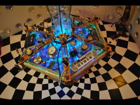 Home Made Tardis Console Room by Jayman Paul White