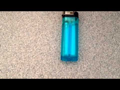 How to make a flamethrower using a lighter