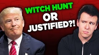 """People Outraged Over Now-Deleted Video and The Trump """"Witch Hunt"""" Rabbit Hole"""