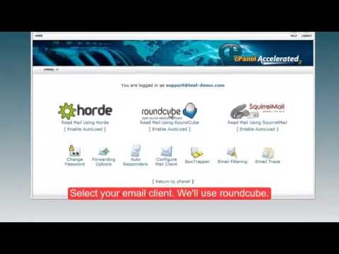 How to check mailbox using cPanel