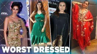 5 WORST Dressed Celebs Of Last Week | Disha Patani | Rani Mukerji | Kriti Kharbanda| Neha Dhupia