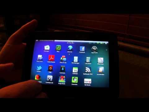 Language Settings on Blackberry Playbook