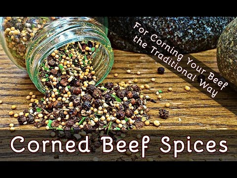 How to Make Corned Beef Spices | If Corning Your Own Beef is Your Thing | Episode 114