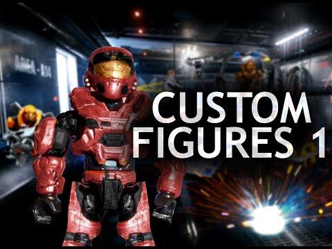 Custom Halo Mega Bloks Figures 1