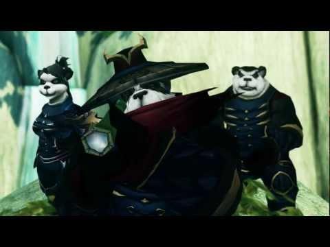 Mists of Pandaria Machinima trailer