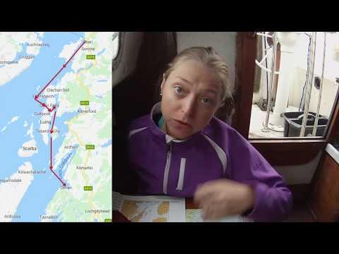Sailing Scotland - Sailing from Oban to Crinan - Day 3