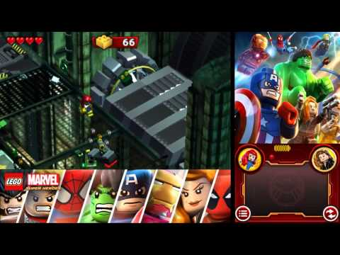 LEGO Marvel Super Heroes: Universe in Peril 100% Freeplay Guide - Chapter 6 - Hydra Base