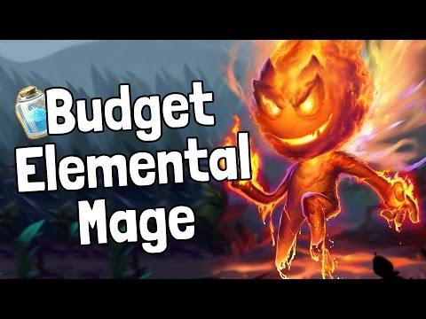 Budget Elemental Mage Deck Guide - Hearthstone