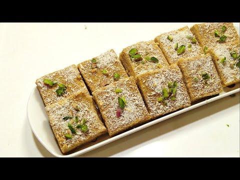 ठंडी में मीठा खाने का मन करे तो बनायें टेस्टी मिठाई गुड़ पापड़ी  - Gud Papdi Recipe - Sangita Agarwal