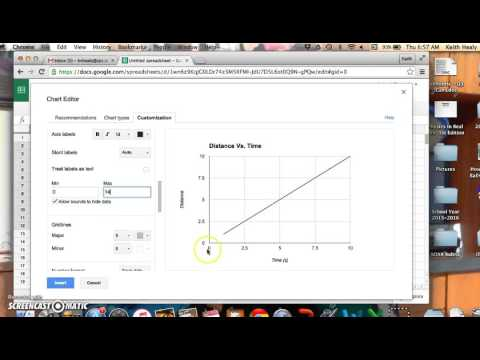 How to Make A Line Graph on Google Sheet