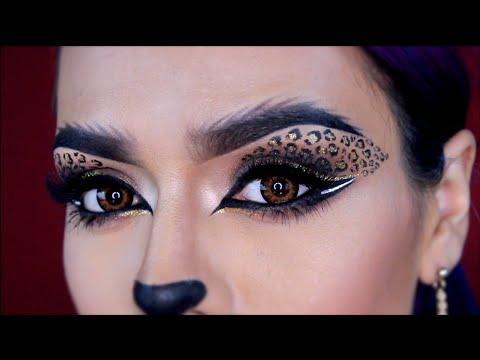 Sexy Leopard Cat Halloween Makeup Tutorial | LoLo Love