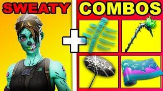 The BEST SWEATY Combos with GHOUL TROOPER | Fortnite Ghoul Trooper Sweaty Combos
