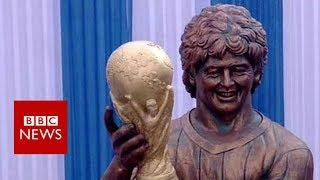 Maradona statue: When football sculptures go wrong - BBC News