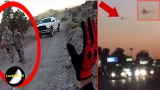 area 51 security exposed on camera ufos spotted in real life