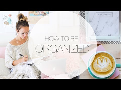 HOW TO BE ORGANIZED IN COLLEGE/SCHOOL