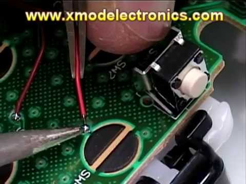 XMOD Rapid Fire Mod Chip, How Install  20 Modes, JITTER installation modded XBOX ONE 360 PS3 PS4,BO3