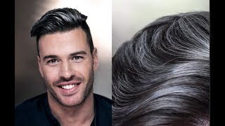 Grey Highlights On Black Hair Men Videos 9tube Tv