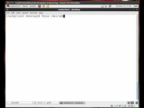Connecting to and mounting an iSCSI LUN with RHEL 6