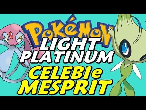 Pokémon Light Platinum (Detonado - Parte 67) - Lendários: CELEBI e MESPRIT